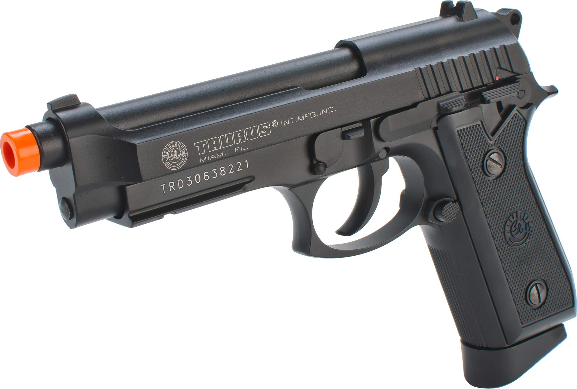 Pistola Airsoft Full Metal CO2 Taurus PT99 con Hop-Up y Blowback, 280-300 FPS