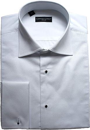 Clermont Direct - Camisa de Marcella, 100% algodón, cuello plegable: Amazon.es: Ropa y accesorios