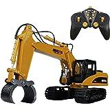 リモートコントロール車の様々な 掘削機 土壌と車 子供のための最高の贈り物 (16Cannel-Grasp Car)
