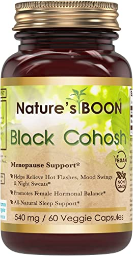 Nature's Boon Premium Quality Black Colosh 540 mg
