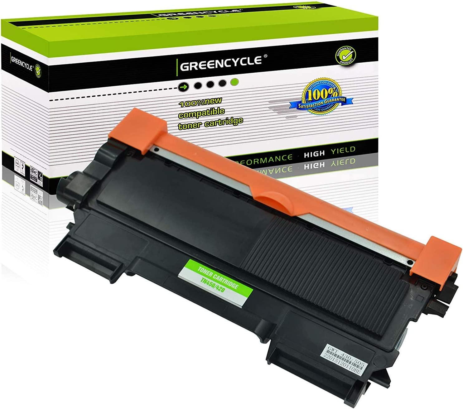 US Stock 10PK TN450 TN420 Toner Cartridge For Brother DCP-7060 D DCP-7065