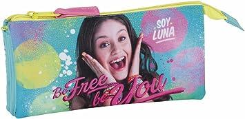 Soy Luna Estuche portatodo Triple Escolar: Amazon.es: Equipaje