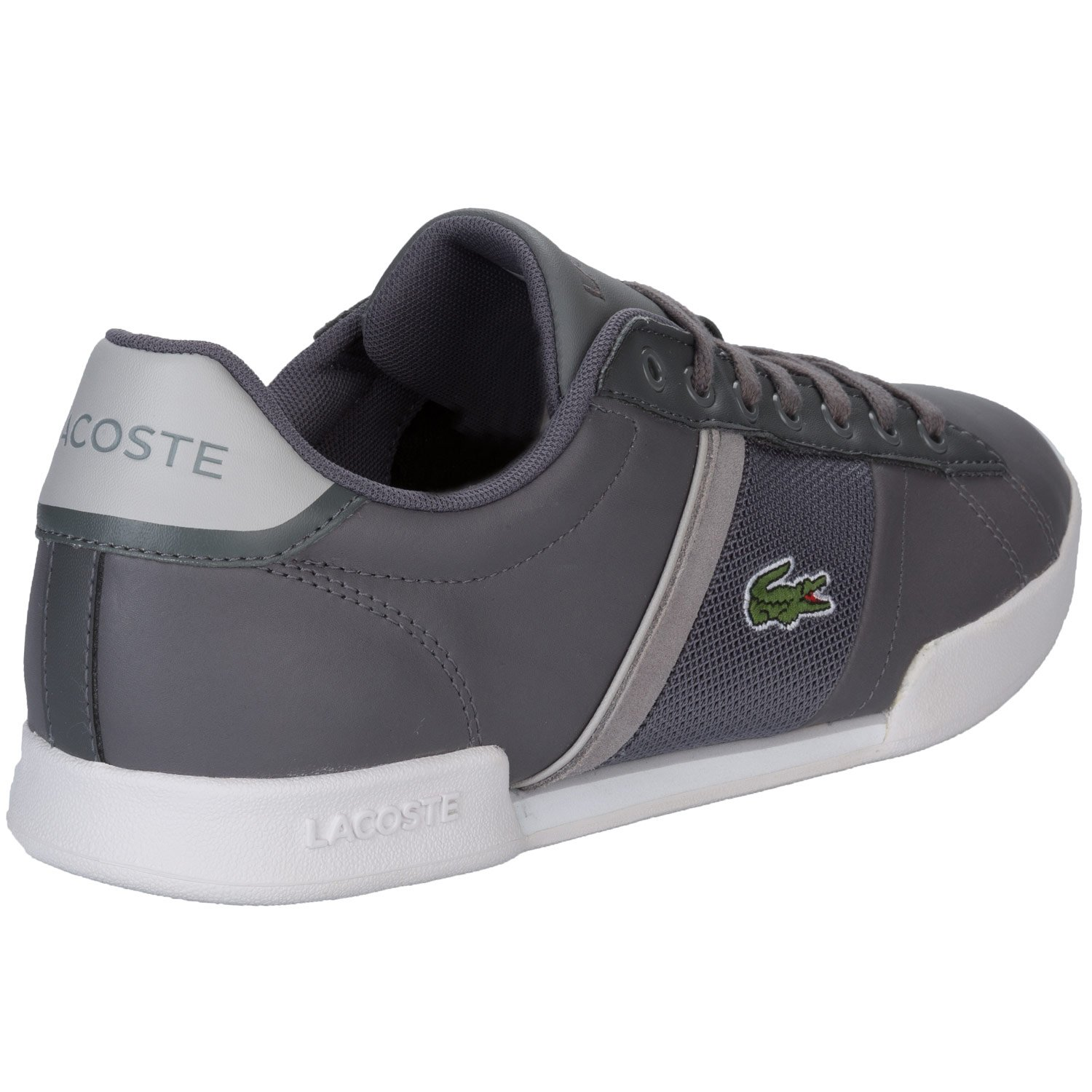 82f20f7e2ed6b Lacoste Mens Mens Deston Trainers in Charcoal - UK 8  Amazon.co.uk  Shoes    Bags