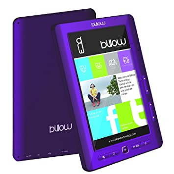 BILLOW Libro ELECTRONICO Multimedia Pantalla DE 7 TFT Color ...