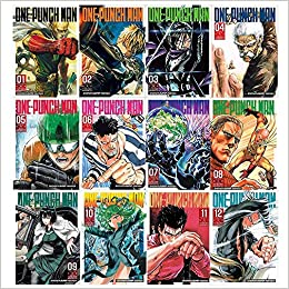 One-Punch Man Volume 1-12 Collection 12 Books Set (Volume 1