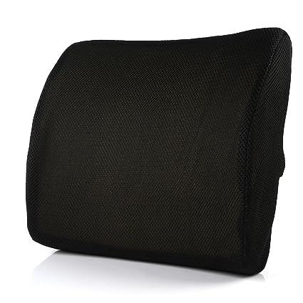 LTC® Memory Foam 3d Ventilative Mesh Soporte lumbar cojín ...