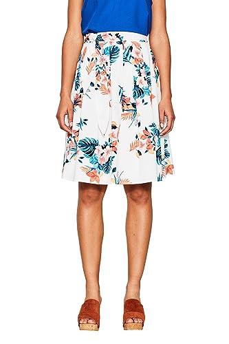 ESPRIT 067ee1d010, Falda para Mujer
