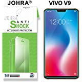 Johra® 0.2mm Unbreakable & Anti-Shock Impossible Glass Screen Protector for Vivo V9 Screen Guard