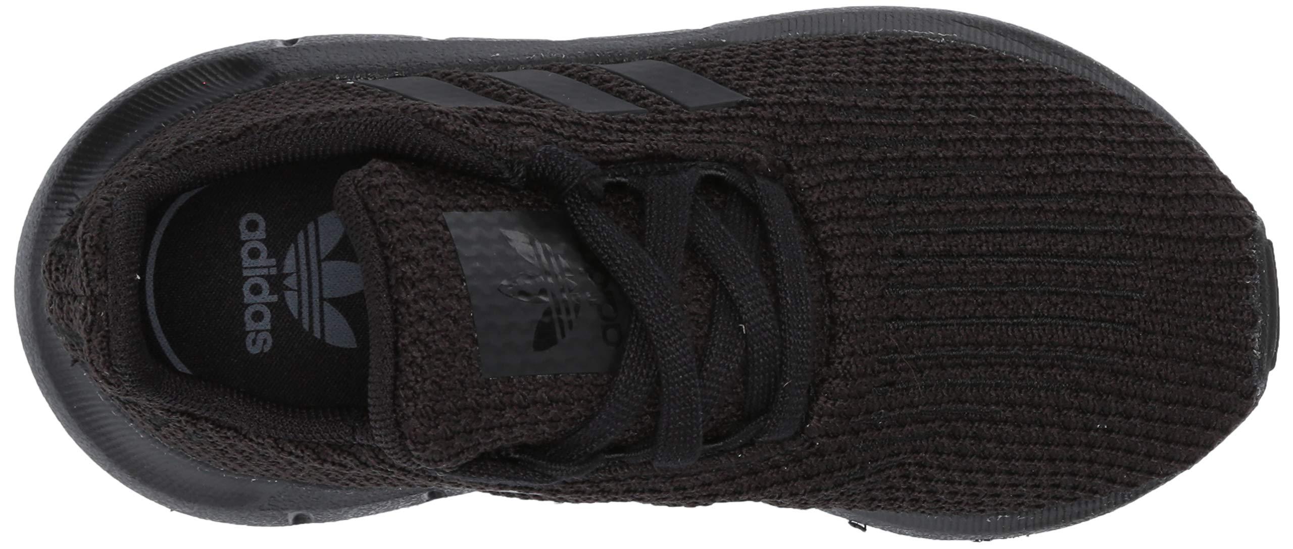 adidas Originals Baby Swift Running Shoe, Black, 5K M US Toddler by adidas Originals (Image #10)