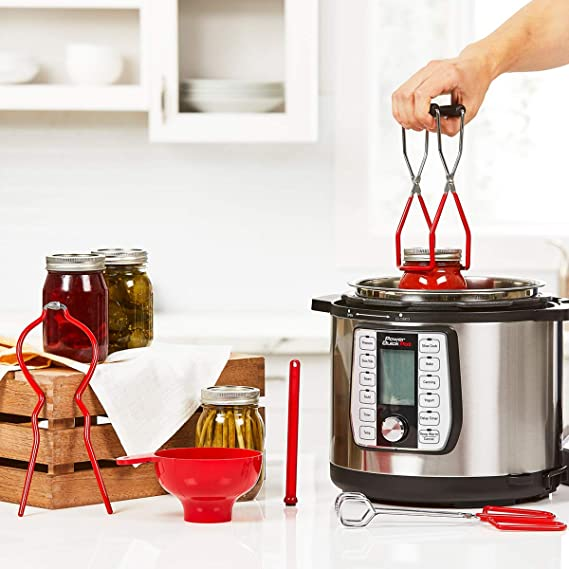 JML Power Quick Pot - Kit de enlatado (6 Piezas): Amazon.es: Hogar