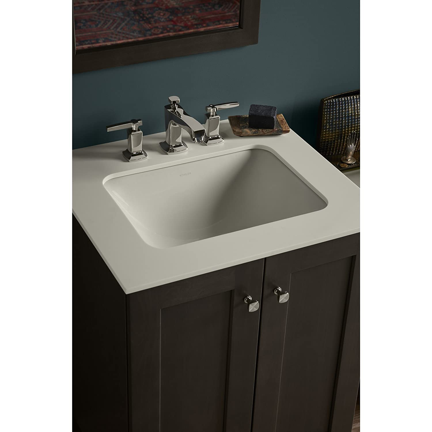 Transolid 1409-7121 25-in x 19-in Cultured Marble Bathroom Vanity Top in White on White