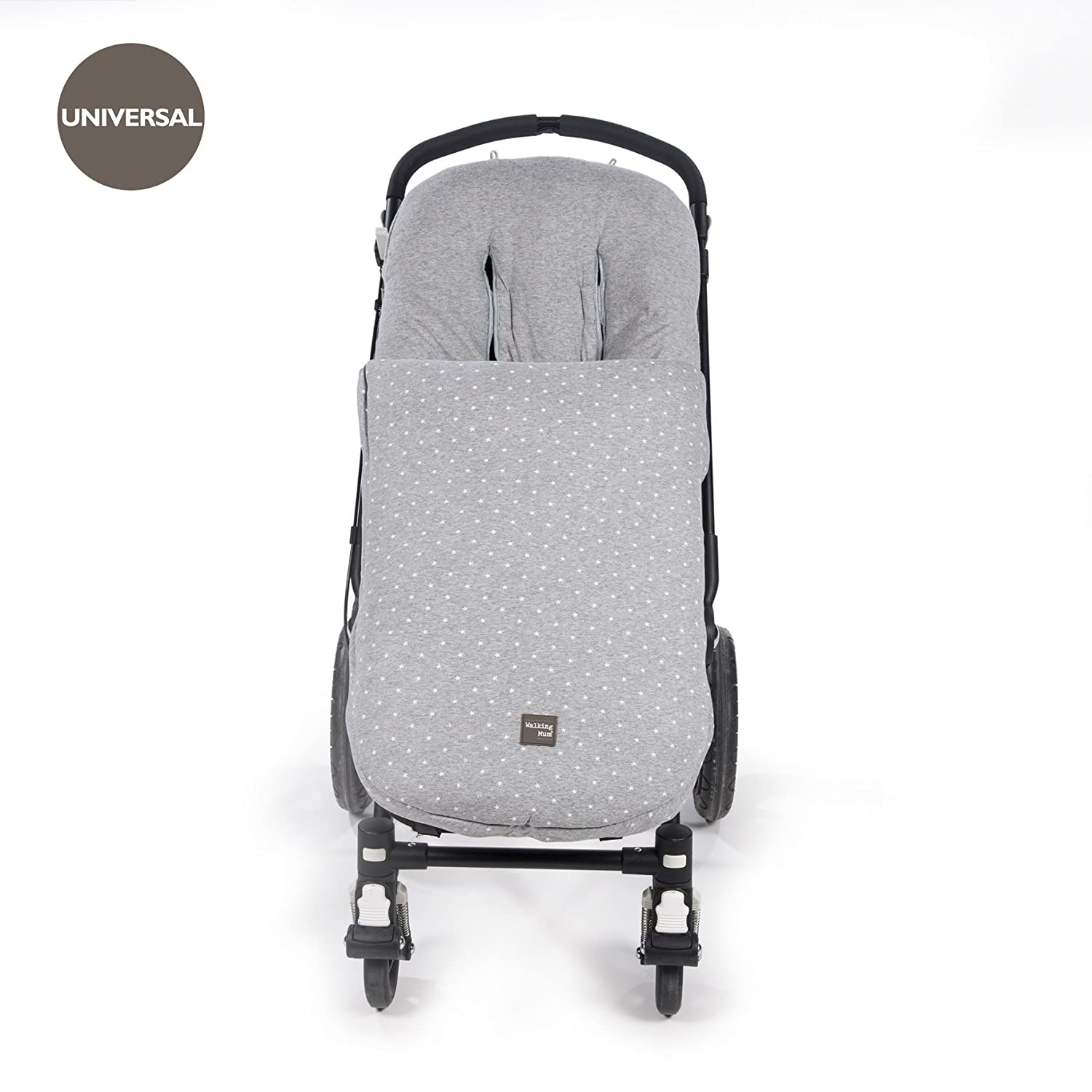 Walking Mum Saco para silla color gris Amazon Beb