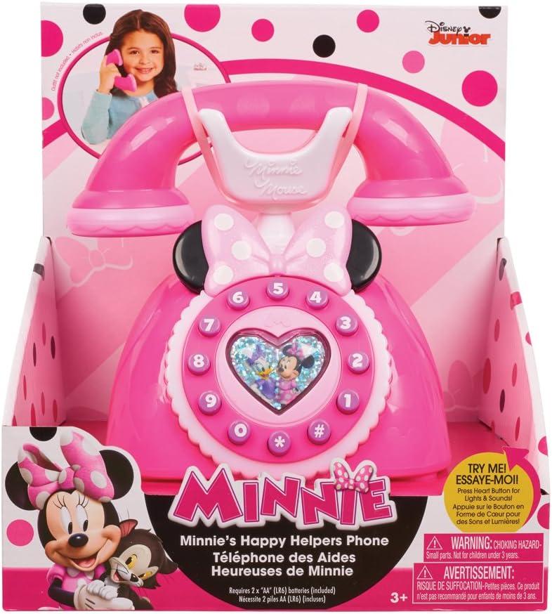 Amazon.es: Teléfono de Minnie Happy Helpers: Juguetes y juegos