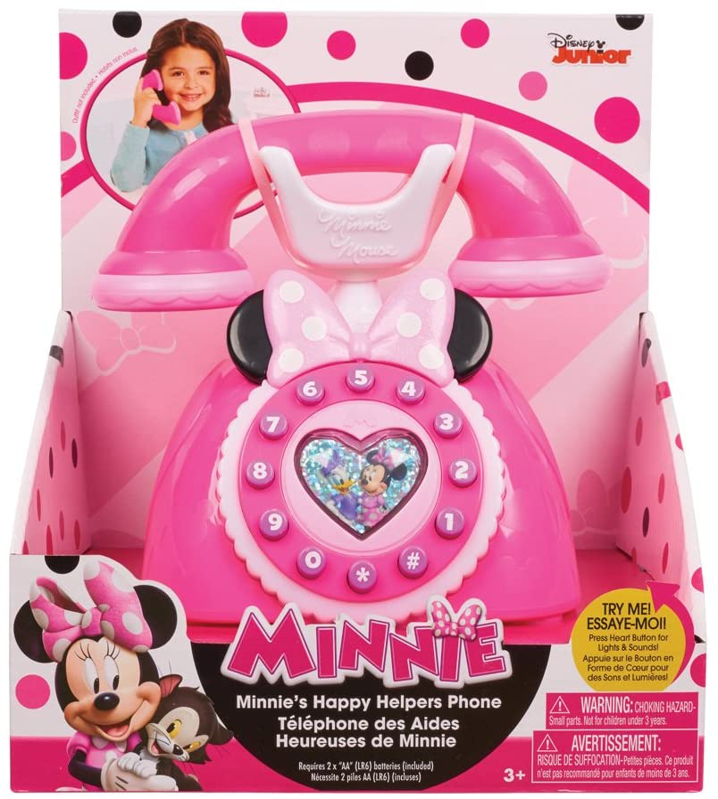"Disney Telefono Giocattolo ""Minnie's Happy Helpers"" (Versione Inglese)"