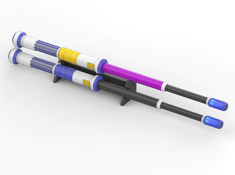 Lifeline Heirloom Drumsticks - Apex - Cosplay - 3d printed with LED backlight