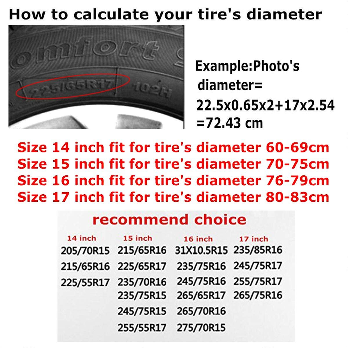 Waynejunior Toronto Spare Tire Cover Wheel Cover Universal Tire Covers for Jeep Trailer RV SUV Truck Camper Travel Trailer Accessories Waterproof 14 15 16 17 Inch