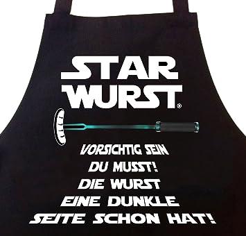 Star Wurst Grillschurze Lustige Geschenke Fur Manner Amazon De Garten