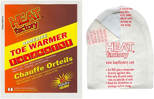 30 Pairs Details about  /Heat Factory 6 Hour Adhesive Foot Warmer Insole
