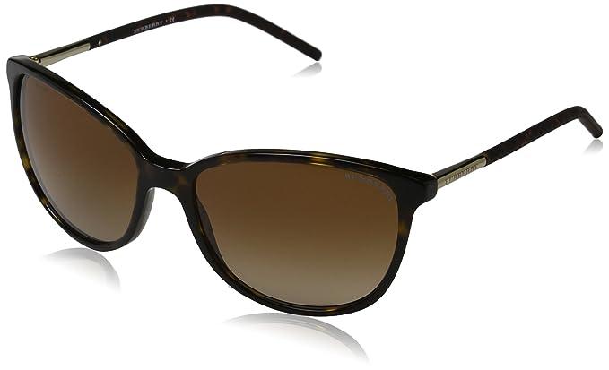Burberry Mujer 0Be4180 300213 57 Gafas de sol, Marrón ...