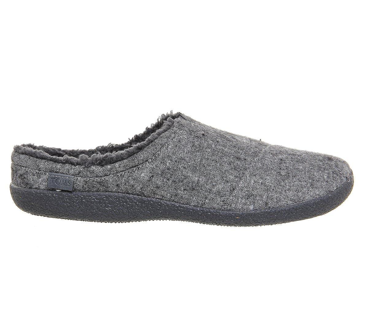 d158fe22da4 TOMS Mens Berkeley Slipper Grey Slub Textile 7 D(M) US  Amazon.in  Shoes    Handbags
