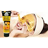 Mr. Blackhead's 24K Gold Facial Mask with Anti-Aging & Wrinkle Formula! Collagen Peel-Off Mask Brightens & Firms Skin - Blackhead Removal