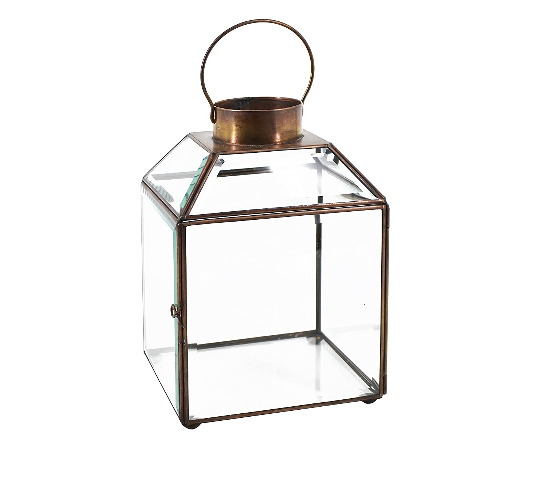 Moycor 7590103 - Lanterna Quadrata Bisel-L, 17x17x24 MP3HQ 7590103.0