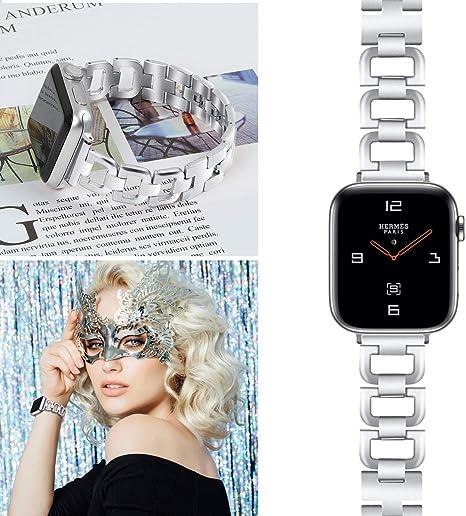 Amazon.com: Oulucci - Correa para Apple Watch (1.496 in, 3/2 ...