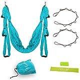 Yoga Swing - Yoga Hammock for Yoga Exercise - Blue/Green/Yellow/Orange