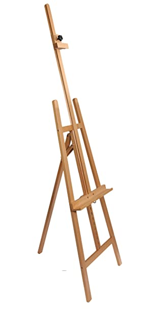 Artist Easel - 100% Solid Beech Wood Professional Studio Easel A ...