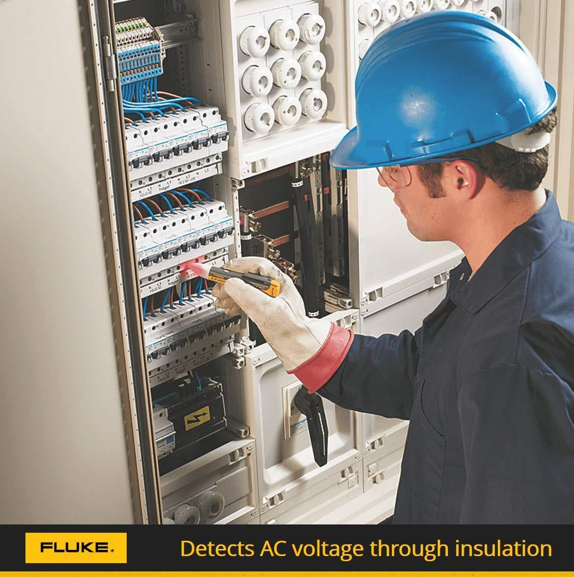Fluke 1ac A1 Ii Voltalert Non Contact Voltage Tester Circuit Breaker Finder Noncontact And Socket Industrial Scientific