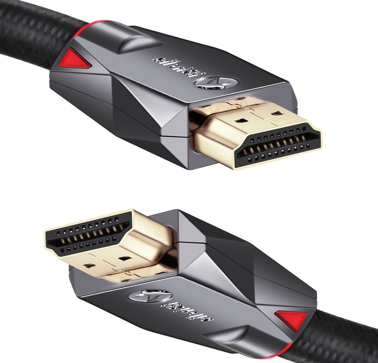 4K High Speed HDMI Cable 30ft - HDMI 2.0 4K Ultra HD HDR Cord - Supports 4K 60hz, 1080p 240hz, 3D 120hz, HDCP 2.2 and ARC - 24AWG by iBirdie by iBirdie (Image #9)