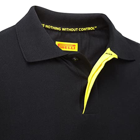 c7aab925c293 Pirelli Polo-Shirt Herren Top Motorsport F1 S M L XL XXL Schwarz T-Shirt  X-Large Blacks  Amazon.de  Sport   Freizeit