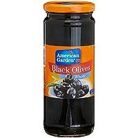 American Garden Black Olives Whole,450g