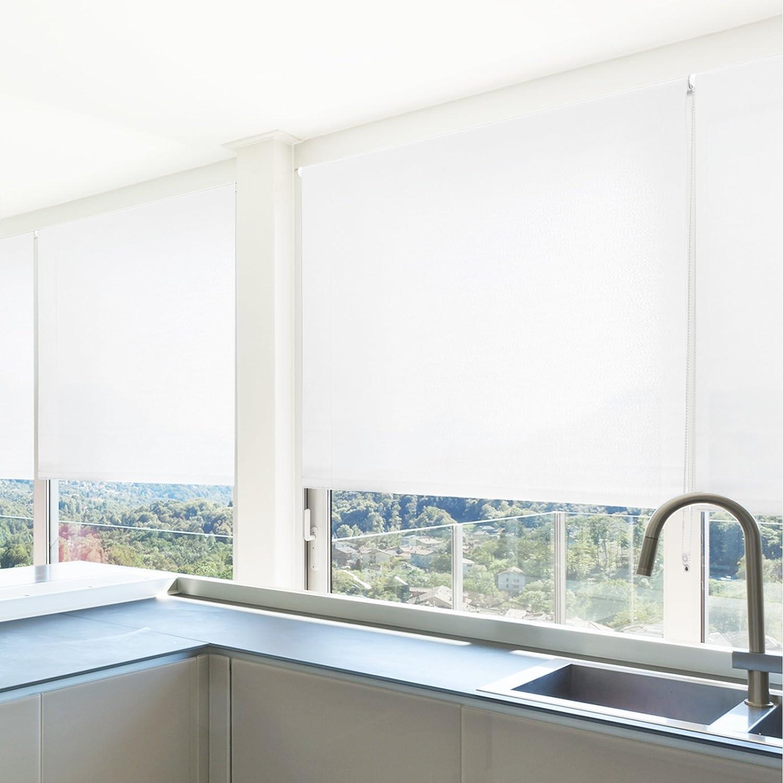 casa pura Sichtschutzrollo lichtdurchlässig in neun Größen