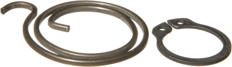 six 2 turn, 2mm thick coils plus six circlips Door Handle Spring Repair Kit