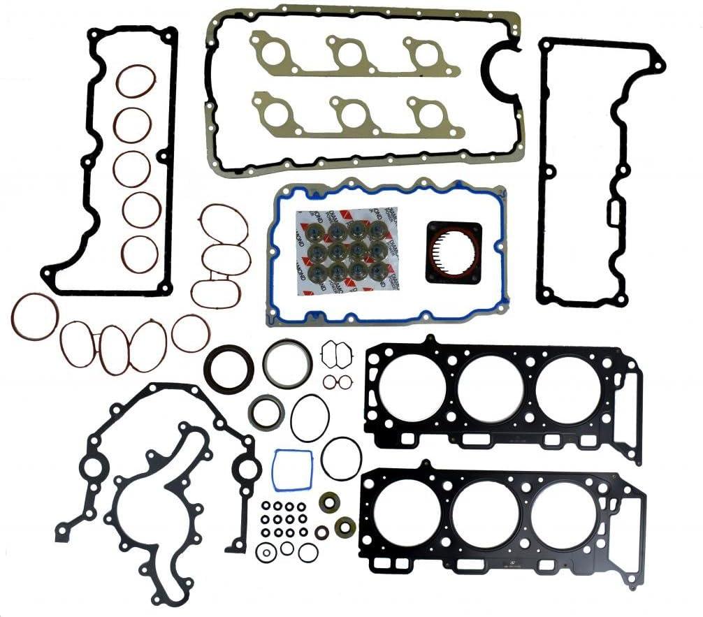 Diamond Power Full Gasket Set works with Ford Explorer Mercury Mountaineer 4.0L V6 SOHC 1998 99 2000