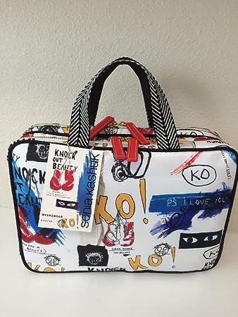 Amazon Com Sonia Kashuk Weekender Makeup Cosmetic Travel Tote Bag