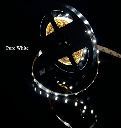 Amazon.com MARSWELL High-quality LED Strip Lights Pure White 6000K-6500K High CRI 80+ SMD5630 Non-waterproof Home u0026 Kitchen  sc 1 st  Amazon.com & Amazon.com: MARSWELL High-quality LED Strip Lights Pure White 6000K ...