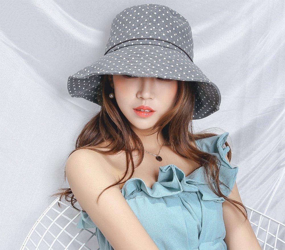 para ni/ña Vino Lectura h/ölzerne curvatura LAAT Mujer Planas oberseiten Tapa Anti UV Ondas Punto Sun Sombrero Verano Playa Sombrero de margen de beil/äufiger 3078193010