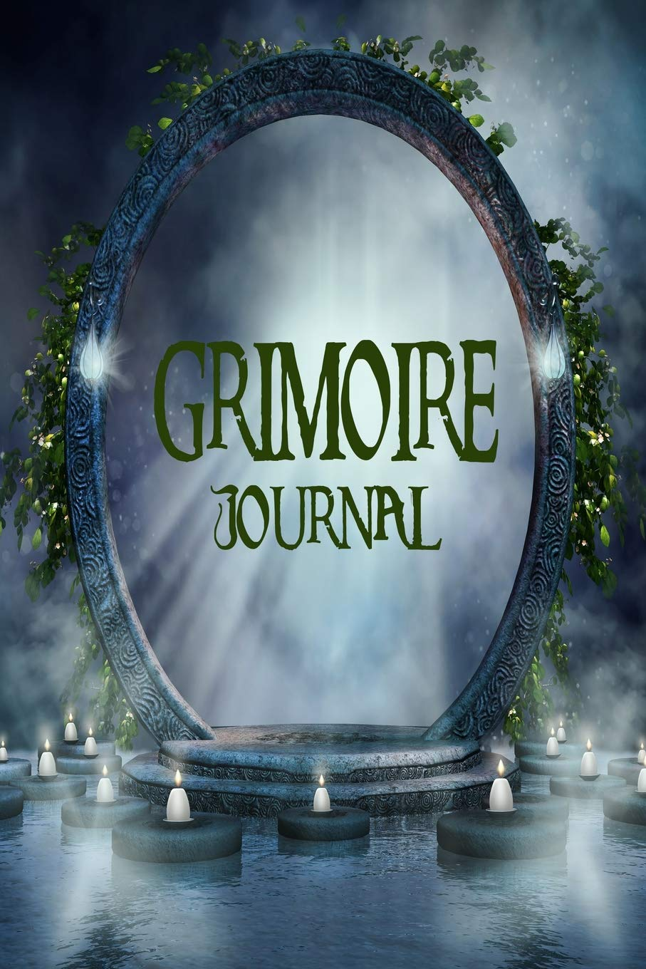Grimoire Journal - Blank Book Of Shadows: Mystic Portal