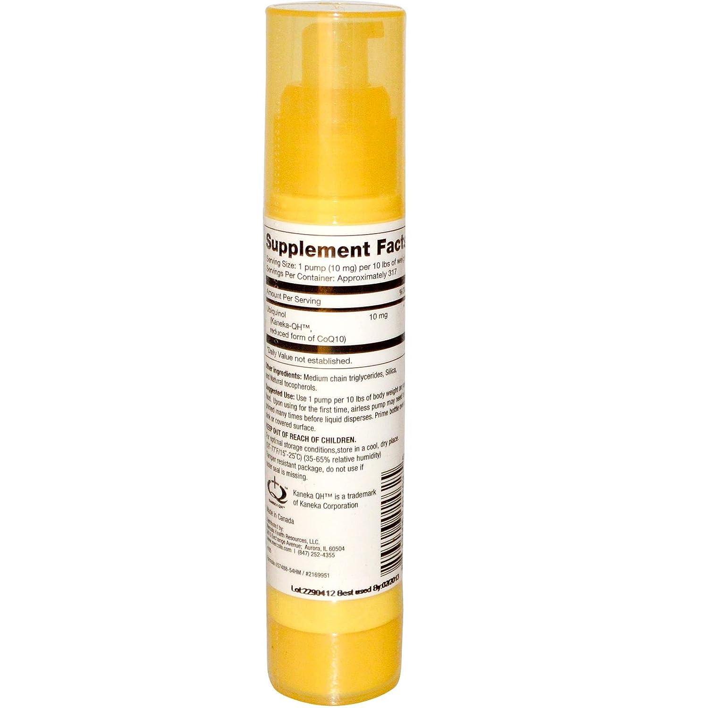 Dr. Mercola, Ubiquinol, Enhanced Bioactivity CoQ10, Airless Pump, 1.84 fl oz (54 ml) by Dr. Mercola: Amazon.es: Salud y cuidado personal
