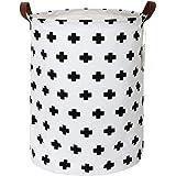 Zonyon Collapsible Laundry Hamper, 15.7'' Jumbo Large Dirty Clothes Laundry Storage Basket for Kids,Boys,Girls,Toys…