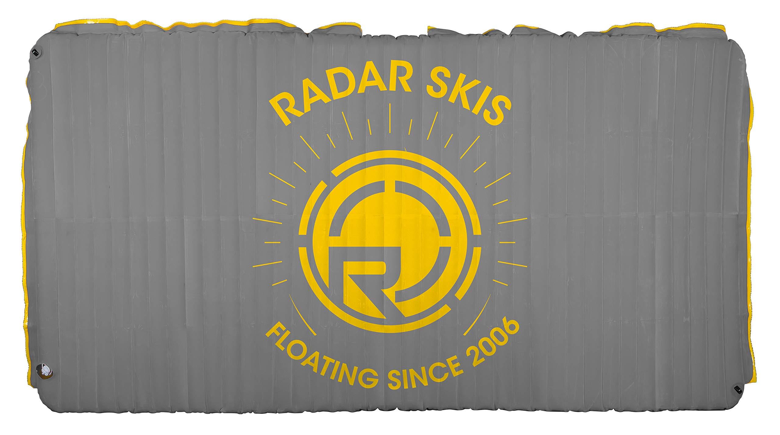 Radar Cloud Water Mat - Silver/Yellow - 5' x 10' (2017) by Radar Skis