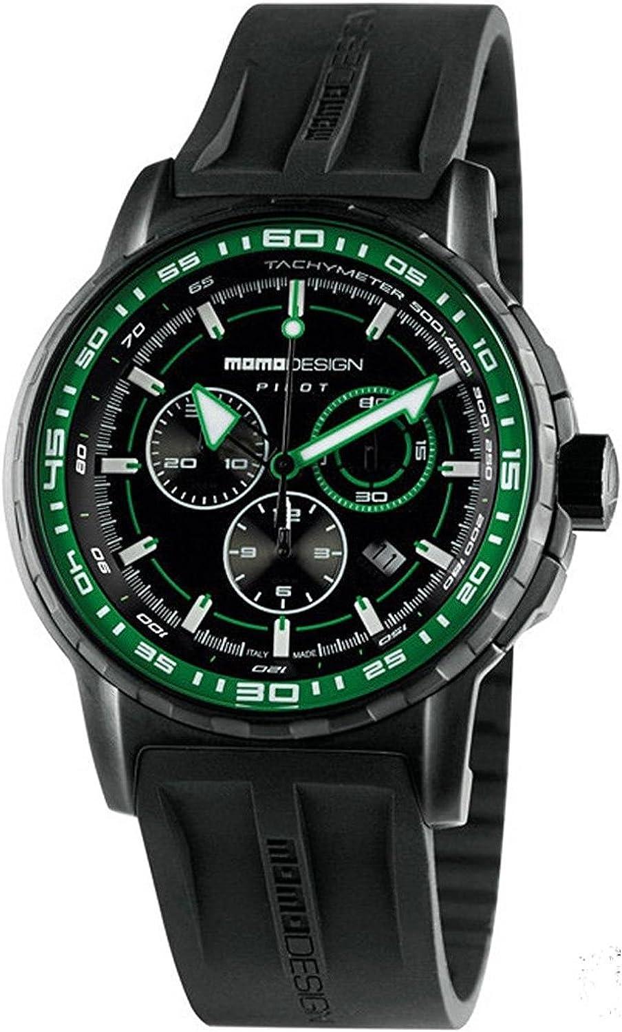 MOMO Design Reloj Informal MD2164BK-31