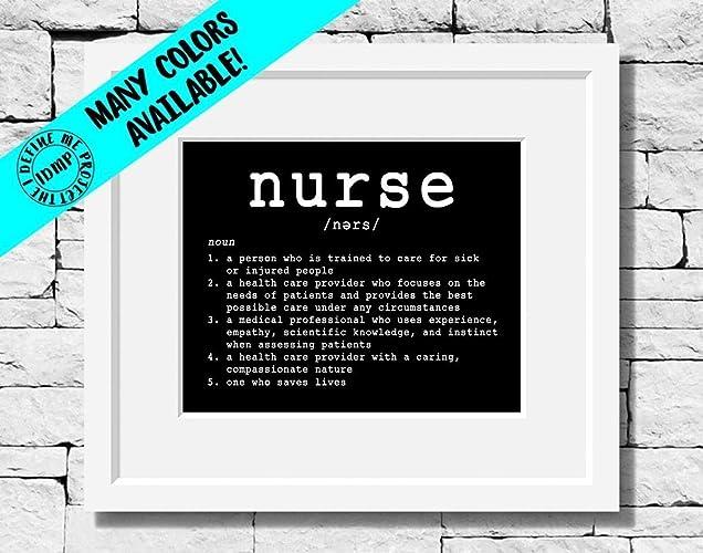 Nurse Quotes Custom Amazon Nurse Gifts Nurse Print Nursing Quote Nursing Print
