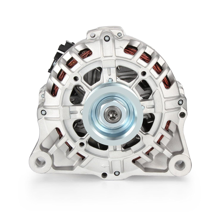 Alternador 120 A/14 V para Expert 206 Citroen Berlingo Xsara 9646153680 9642880280 9627727180 BOL-B051124 de Madlife Garage: Amazon.es: Coche y moto