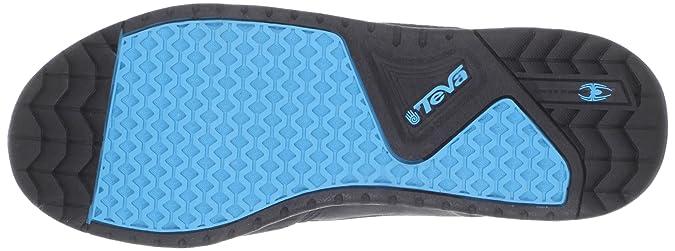 Teva The Links Mid The Links Mid-U - Zapatillas de Deporte Unisex, Color Negro, Talla 36.5: Amazon.es: Zapatos y complementos