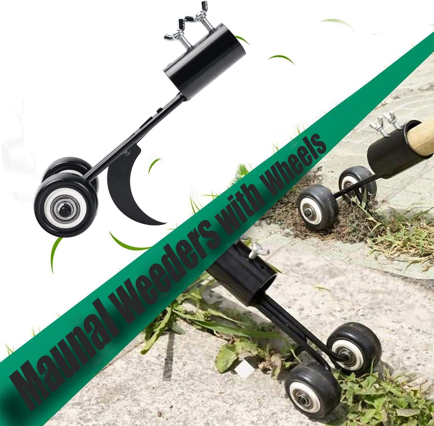 yalanle Weeds Snatcher Crack and Crevice Weeding Tool Weed Puller Household Helper Garden Tools Stand up Manual Weeder Hand Tool-Curved Hook : Garden & Outdoor