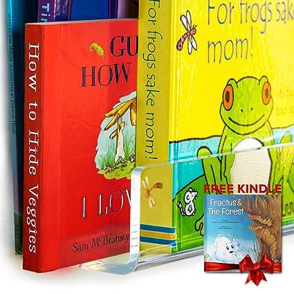 Amazon Acrylic Bookshelf UNBREAKABLE 38 Inch Bookshelves 6mm