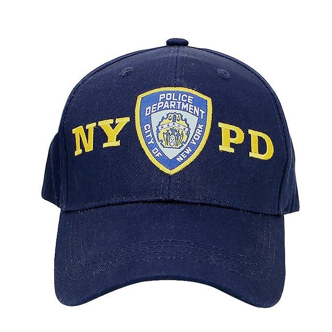 Amazon.com  City-Souvenirs Official NYPD Hat Baseball Cap 309d16f63d05